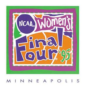 1995 NCAA Division I Women's Basketball Tournament - Image: 1995Womens Final Four Logo
