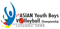 2008 Asian Youth Boys Volleyball Championship logo.png