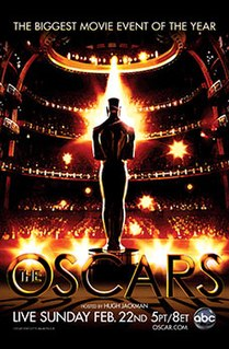 81st Academy Awards 2009 ceremony honoring the best in film for 2008