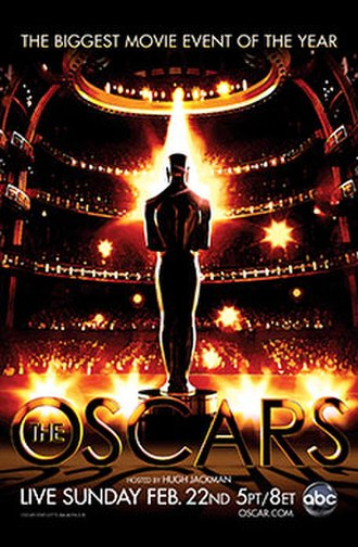 81st Academy Awards - Official poster
