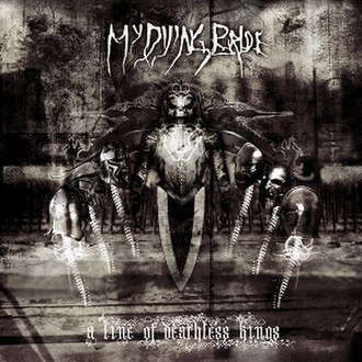 A Line of Deathless Kings - Image: A Line of Deathless Kings (My Dying Bride album cover art)