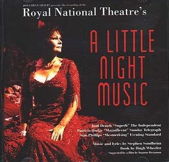 A Little Night Music - Cast recording of 1995 National Theatre revival starring Judi Dench