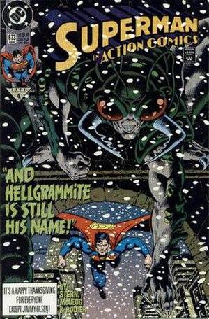 Hellgrammite (comics) - Image: Action Comics 673