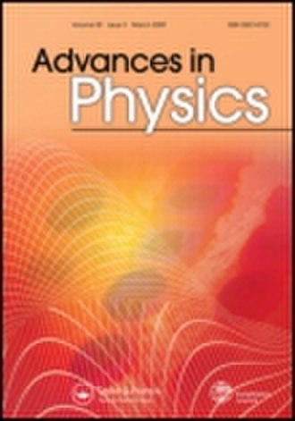 Advances in Physics - Image: Advances in Physics cover image