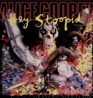 Hey Stoopid (song) song by Alice Cooper