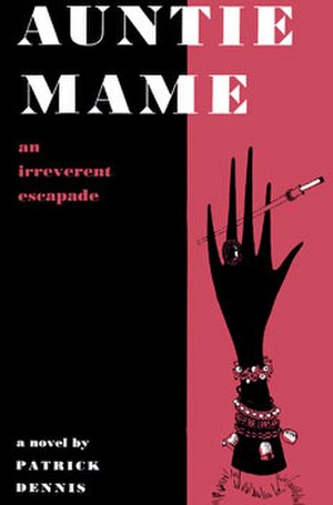 The New York Times Fiction Best Sellers of 1955 - Image: Auntie Mame Book First Edition