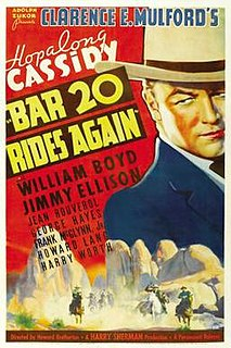 <i>Bar 20 Rides Again</i> 1935 film by Howard Bretherton