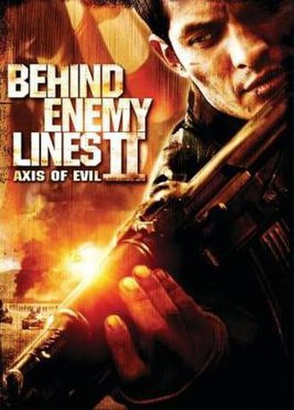 Behind Enemy Lines II: Axis of Evil - DVD cover