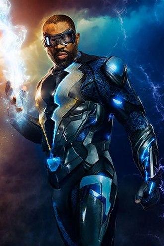 Black Lightning - Cress Williams as Black Lightning The CW TV series Black Lightning