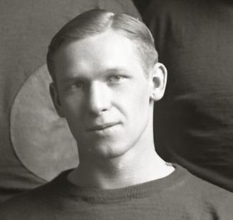 Bo Molenda - Molenda cropped from 1925 Michigan Wolverines team photograph