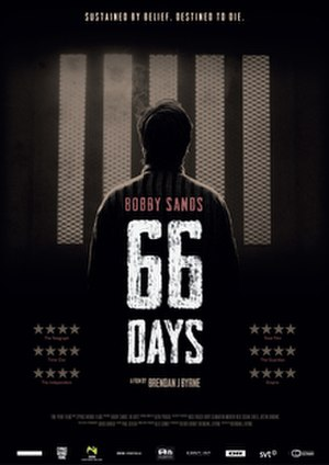 Bobby Sands: 66 Days - Advertising poster