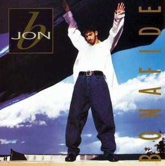 Bonafide (Jon B. album) - Image: Bonafide US album