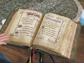 Pages of the Book of Shadows.
