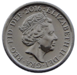 British five pence coin 2016 obverse.png