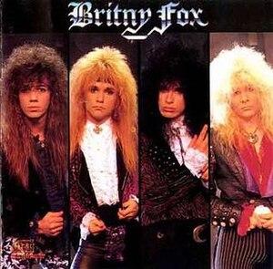 Britny Fox (album) - Image: Britny Fox ST