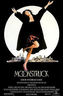 <i>Moonstruck</i> 1987 film by Norman Jewison