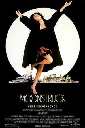 Moonstruck - Theatrical release poster by Olga Kaljakin