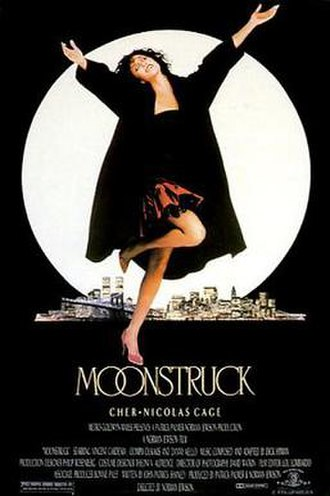 Moonstruck - Theatrical release poster