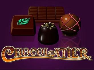 Chocolatier (video game) - Image: Chocolatier logo big splash