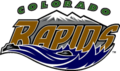 Colorado Rapids first logo (1996–2001)