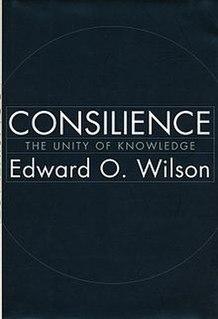 <i>Consilience</i> (book) book by Edward Osborne Wilson