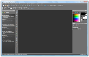 Corel PaintShop Pro Photo X2 in Windows Vista