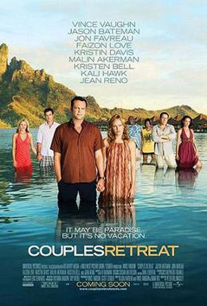 Couples Retreat - Theatrical release poster