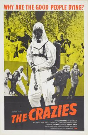 The Crazies (1973 film) - Film poster