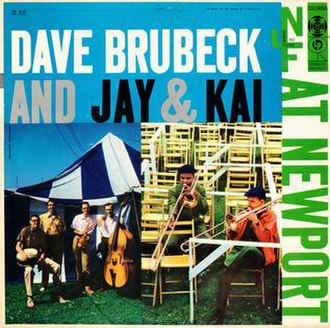 Dave Brubeck and Jay & Kai at Newport - Image: Dave Brubeck and Jay & Kai at Newport