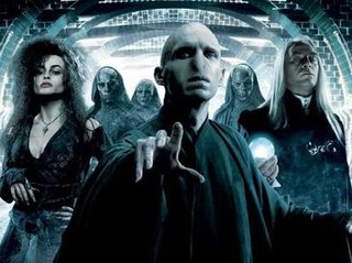 Death Eater fictional characters in the Harry Potter series of novels and films