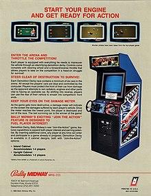 Demolition Derby 1984 video game Wikipedia