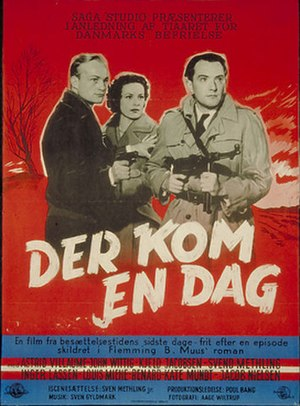 8th Bodil Awards - Poster for Der kom en dag