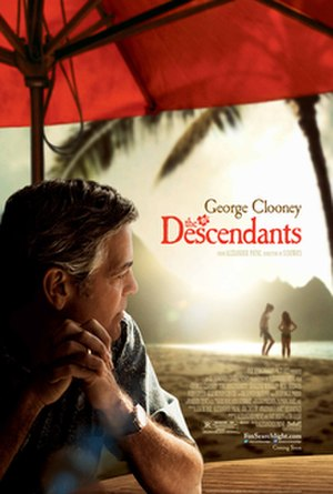 The Descendants - Theatrical release poster