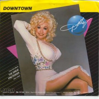 Downtown (Petula Clark song) - Image: Dollydowntown