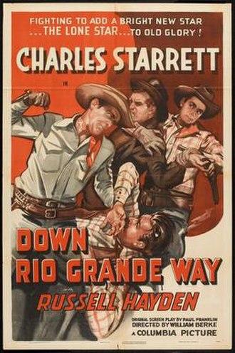 Down Rio Grande Way - Theatrical release poster