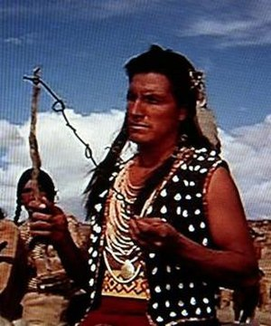 Eddie Little Sky - Eddie Little Sky in the role of Crow chief in the 1965 western spoof Hallelujah Trail