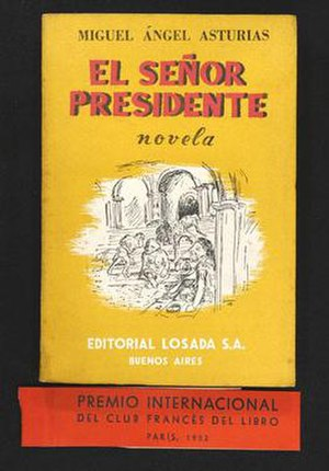 The third (Spanish) edition of  El Señor Presi...