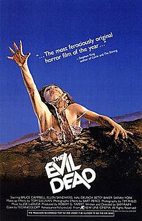 1981 American supernatural horror film by Sam Raimi