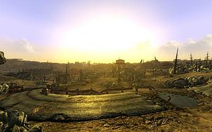 Fallout 3 - The desolate area of the Capital Wasteland, where Fallout 3 takes place.