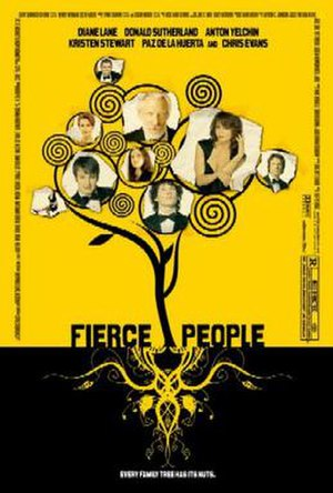 Fierce People (film) - Theatrical release poster