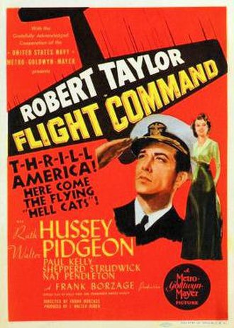 Flight Command - Theatrical poster