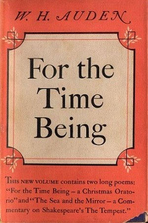 For the Time Being - First edition (publ. Random House)