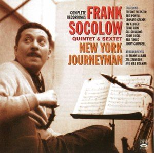 New York Journeyman – Complete Recordings - Image: Frank Socolow New York Journeyman (album cover)