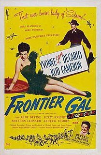 <i>Frontier Gal</i> 1945 film by Charles Lamont