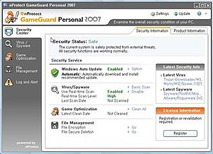 NProtect GameGuard Personal 2007 ...