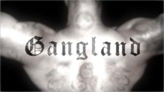 Gangland (TV series) - Image: Gangland logo