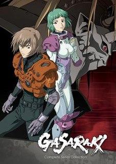 <i>Gasaraki</i> manga