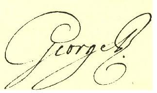 George III signature