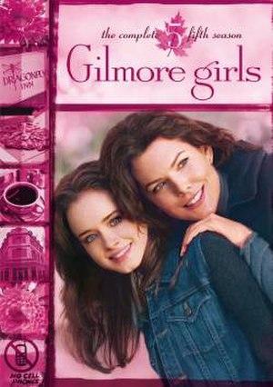 Gilmore Girls (season 5) - Season 5 DVD cover