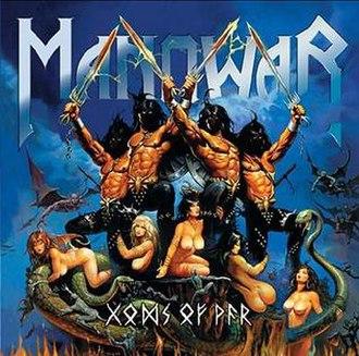 Gods of War (Manowar album) - Image: Gods of war Cover